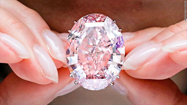 Image result for pink star diamond
