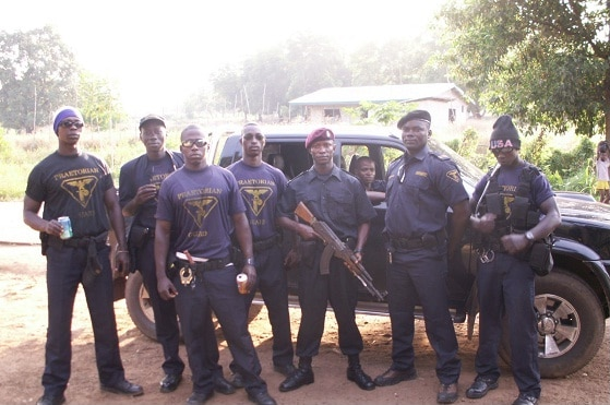 Security jobs - mining in africa