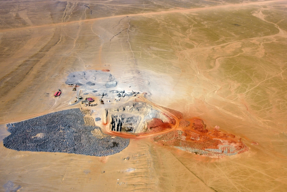 Mining Africa - Mining development, quarry, Namibia